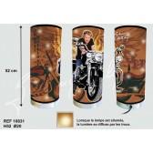 Lamp reus Johnny Hallyday motorfiets