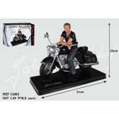 Figurine Johnny Hallyday Moto