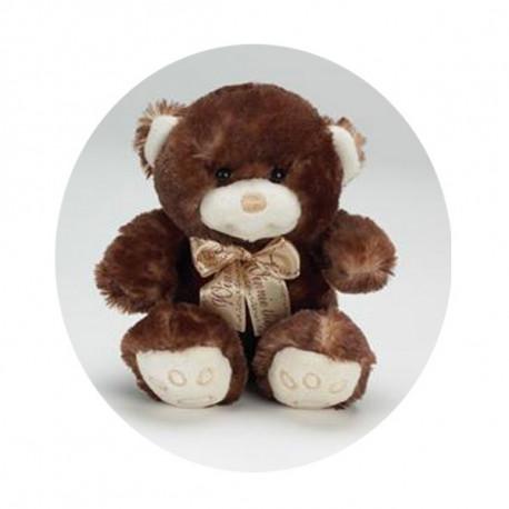 Oso de peluche marrón 17 CM