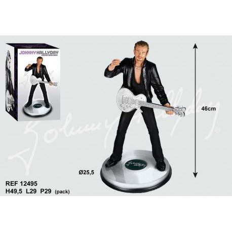 Estatuilla de 46 CM de guitarra de Johnny Hallyday