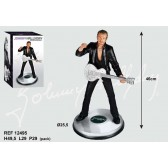 Estatuilla de 46 CM de guitarra de Johnny Hallyday