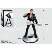 Figurine Johnny Hallyday Guitare 46 CM