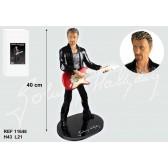 Guitarra de Johnny Hallyday Figura 42 CM