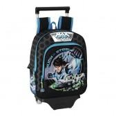 Rolling backpack Max Steel 34 CM maternal - Trolley