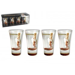 Coffret 4 shooter Marilyn Monroe