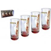 4-Gläser-Box Marilyn Monroe