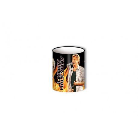 Pot pencil Johnny Hallyday model 4
