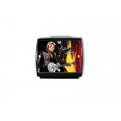 Johnny Hallyday guitar clock