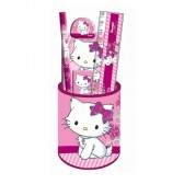 Festlegen der Schule Pot Bleistift Charmmy Kitty