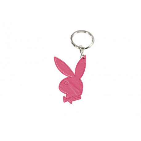 Carries key Playboy leather pink