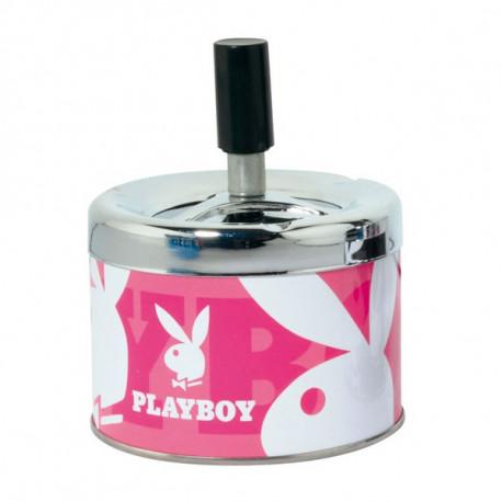 Cendrier Playboy Toupie Rose Petit Modèle