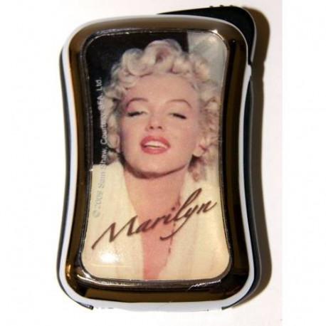 Briquet Marilyn Monroe métal jaune