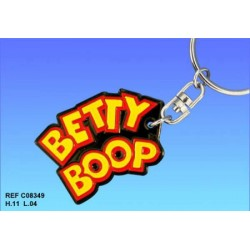 Betty Boop Logo portachiavi