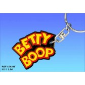 Betty Boop Logo key ring