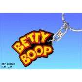 Betty Boop Logo Sleutelhanger