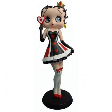 Estatuilla de Betty Boop Reina de corazones