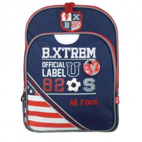 B.XTREM Farbe USA 38 CM - 2 cpt-Rucksack