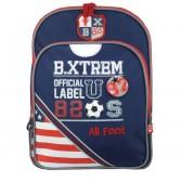 Backpack B.XTREM color USA 38 CM - 2 cpt