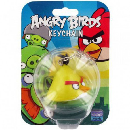 Keyring Angry birds Yellow light and sound
