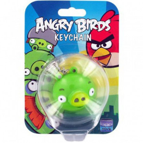 Porte clés Angry birds Pig lumineux et sonore