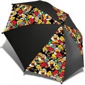 Paraplu boze vogels 60-CM