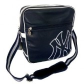 New York Yankees Navy 33 CM Style Leder Tasche