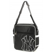 New York Yankees black 33 CM Bag Style leather