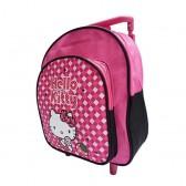 Satchel heeft rollen Hello Kitty moeders 30 CM