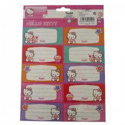 20 etichette Hello Kitty