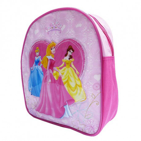 Mochila escolar materna princesa Disney 29 CM