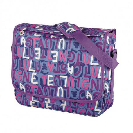 Equipo con Lulu Castagnette satchel o bolsa 40 CM