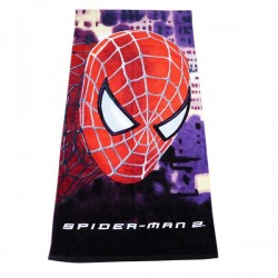 Spiderman bath sheet towel