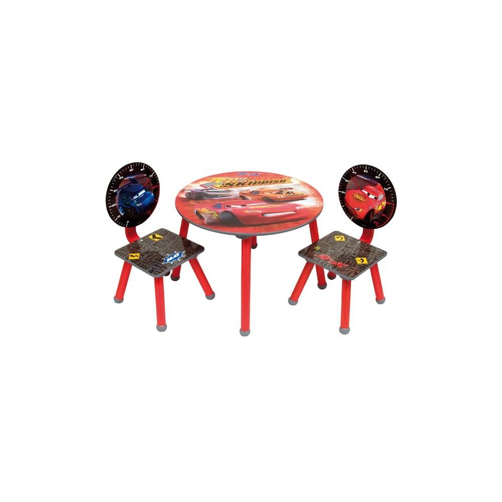ensemble chaise table cars disney. Black Bedroom Furniture Sets. Home Design Ideas