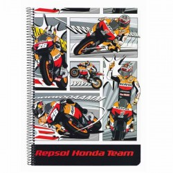Características A4 Repsol Honda Logo
