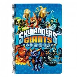 Cahier spirale A4 Skylanders Grand Logo