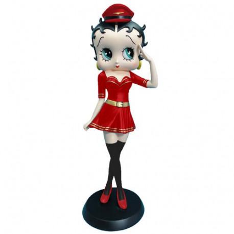 Beeldje Betty Boop stewardess