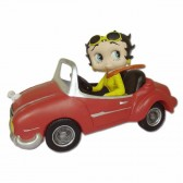 Statuette Betty Boop sports car