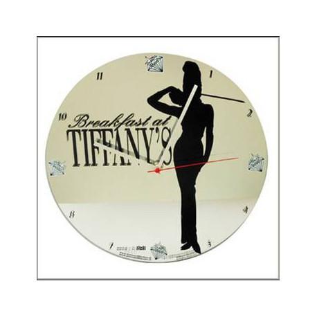 Clock glass Audrey Hepburn Tiffanys