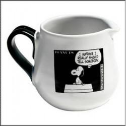 Negro de Snoopy BD crema y blanco