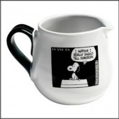 Creamer Snoopy BD black & white