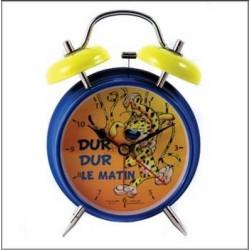 Reloj despertador azul metal de Marsupilami