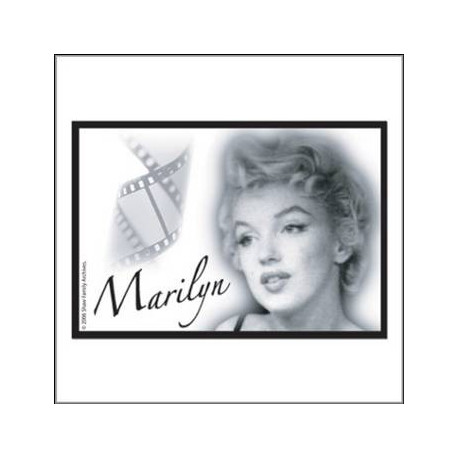 Metal imán Marilyn Legend