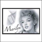 Magneet metaal Marilyn legende