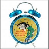 Reloj despertador Gaston Lagaffe 18 CM