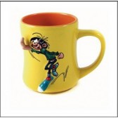 Mug Gaston Lagaffe yellow 3D
