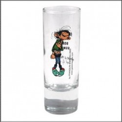 Mini glas Gaston Lagaffe