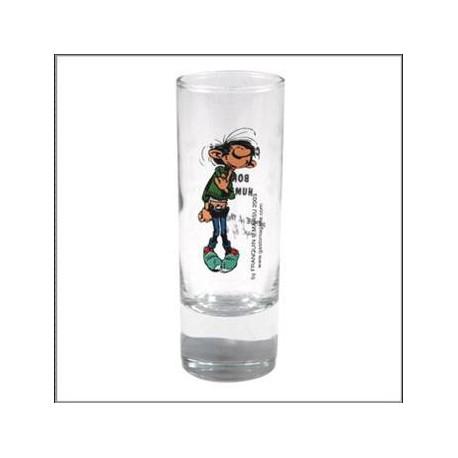 Mini verre Gaston Lagaffe