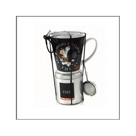 Mug Droopy with tea box