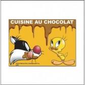 Magneet Titi chocolade