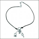 Necklace Titi Chrome